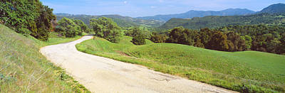 Vale Photograph - Carmel Valley Road, Route G20 by Panoramic Images