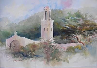 Painting - Carmelite Monastery  by John  Svenson