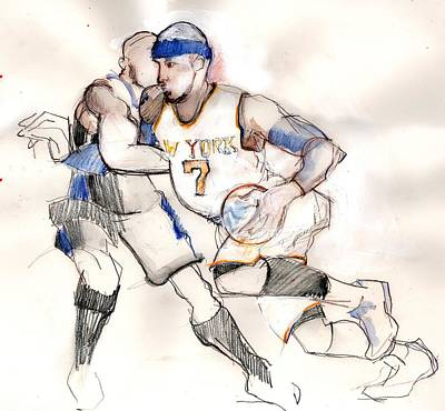 Drawing - Carmelo by Carolyn Weltman