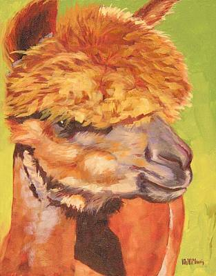 Carmencita Art Print by Mary McInnis