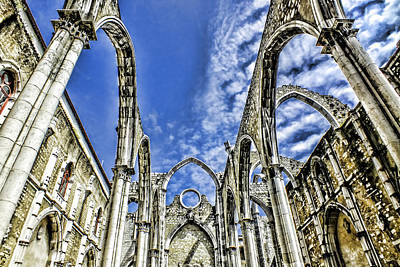 Photograph - Carmo Convent Lisbon by Phil Darby