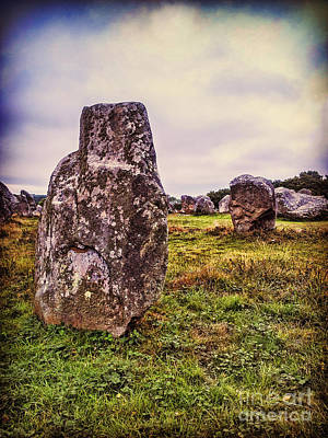 Megalith Photograph - Carnac by Colin and Linda McKie