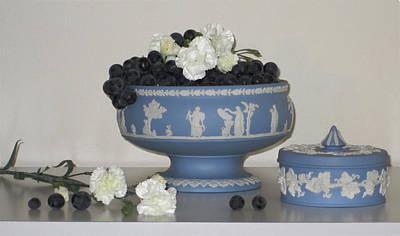 Photograph - Carnation Grape Togetherness by Good Taste Art