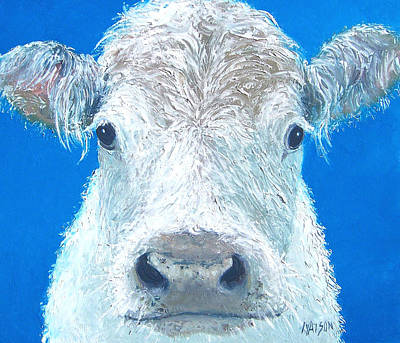 Carnation The Cow Art Print by Jan Matson