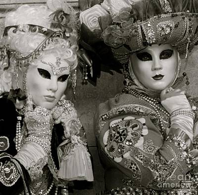 Photograph - Carnavale Di Venezia I by Louise Fahy