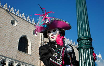 Painting - Carnavale Di Venezia II by Louise Fahy