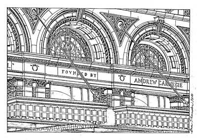 Carnegie Hall Art Print