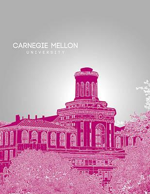 Carnegie Mellon University Hamerschlag Hall Art Print by Myke Huynh
