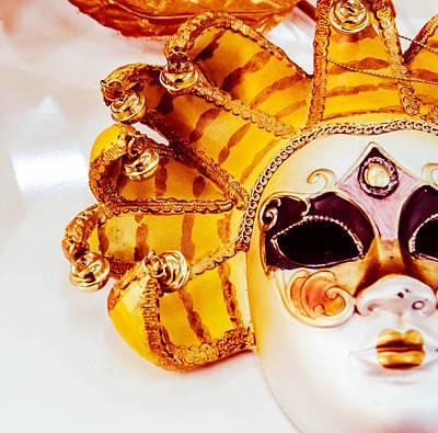 Plaster Mask Photograph - Carneval Mask II. by Slavica Koceva