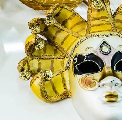 Plaster Mask Photograph - Carneval Mask IIi. by Slavica Koceva