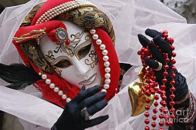 Photograph - Carnevale Di Venezia  1 by Rudi Prott