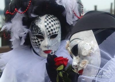 Photograph - Carnevale Di Venezia 118 by Rudi Prott