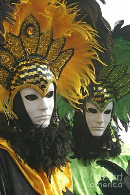 Photograph - Carnevale Di Venezia 12 by Rudi Prott