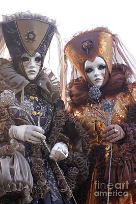 Photograph - Carnevale Di Venezia 13 by Rudi Prott