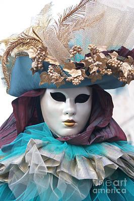 Photograph - Carnevale Di Venezia 14 by Rudi Prott