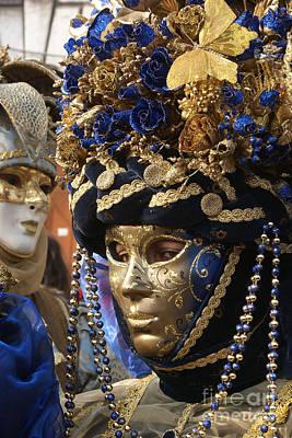 Photograph - Carnevale Di Venezia 15 by Rudi Prott