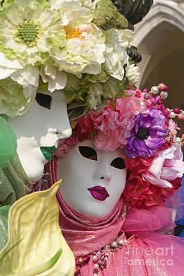 Photograph - Carnevale Di Venezia 17 by Rudi Prott