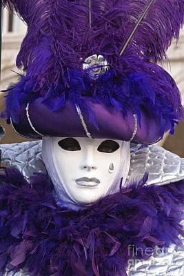 Photograph - Carnevale Di Venezia 18 by Rudi Prott
