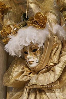 Photograph - Carnevale Di Venezia 19 by Rudi Prott