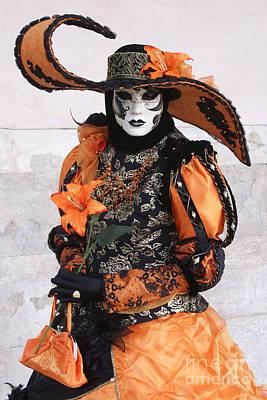Photograph - Carnevale Di Venezia 20 by Rudi Prott