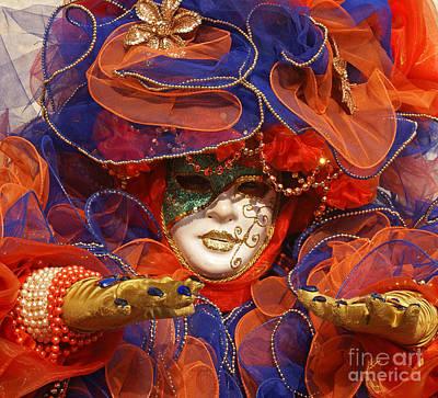 Photograph - Carnevale Di Venezia 21 by Rudi Prott