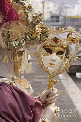 Photograph - Carnevale Di Venezia 22 by Rudi Prott