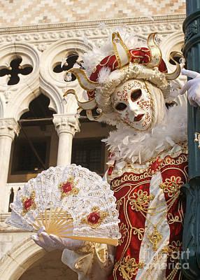 Photograph - Carnevale Di Venezia 23 by Rudi Prott
