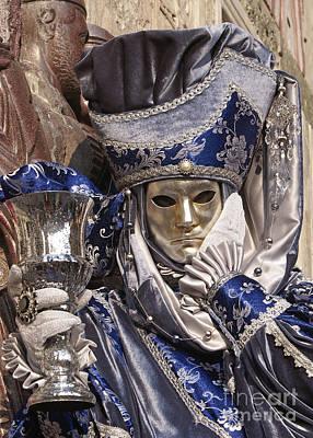 Photograph - Carnevale Di Venezia 24 by Rudi Prott