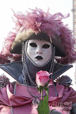 Photograph - Carnevale Di Venezia 27 by Rudi Prott