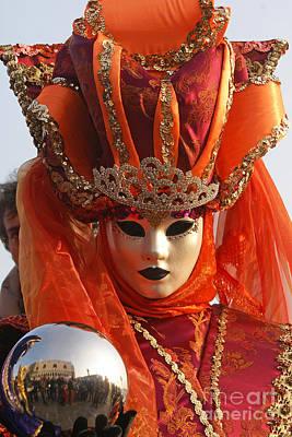 Photograph - Carnevale Di Venezia 28 by Rudi Prott