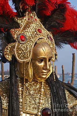 Photograph - Carnevale Di Venezia 29 by Rudi Prott