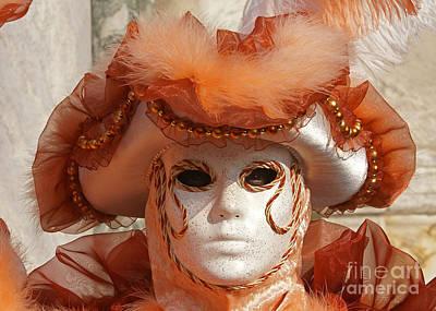 Photograph - Carnevale Di Venezia 30 by Rudi Prott