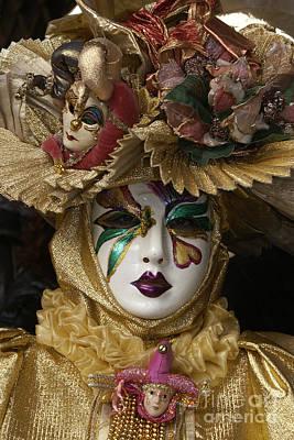 Photograph - Carnevale Di Venezia 32 by Rudi Prott