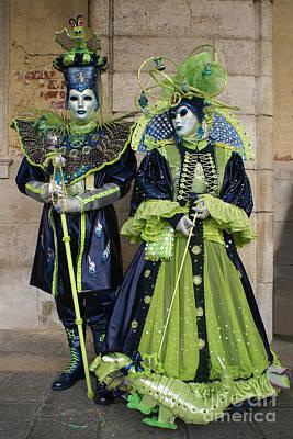 Photograph - Carnevale Di Venezia 33 by Rudi Prott