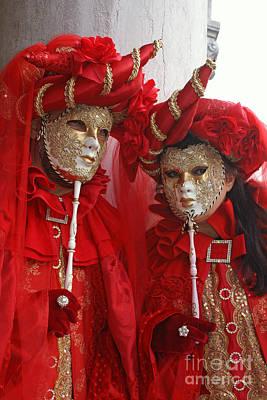 Photograph - Carnevale Di Venezia 34 by Rudi Prott