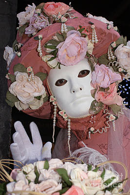 Photograph - Carnevale Di Venezia 35 by Rudi Prott