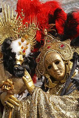 Photograph - Carnevale Di Venezia 36 by Rudi Prott