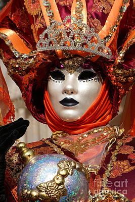 Carnevale Di Venezia 54 Art Print