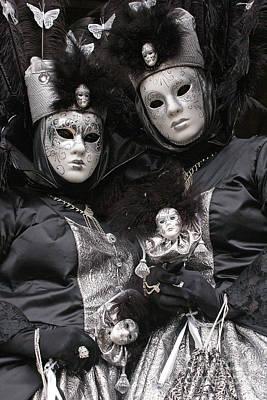 Photograph - Carnevale Di Venezia 6 by Rudi Prott