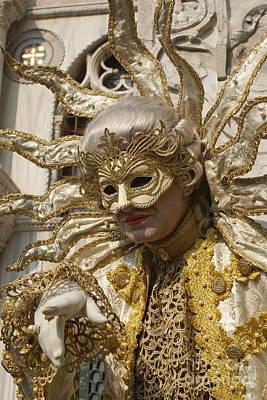 Photograph - Carnevale Di Venezia 8 by Rudi Prott