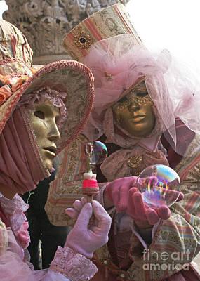 Photograph - Carnevale Di Venezia 9 by Rudi Prott