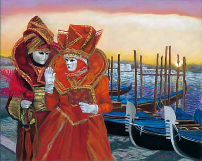 Painting - Carnevale Sunrise by Kelly Borsheim
