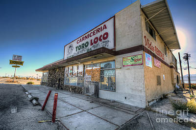 Photograph - Carniceria Toro Loco by Eddie Yerkish