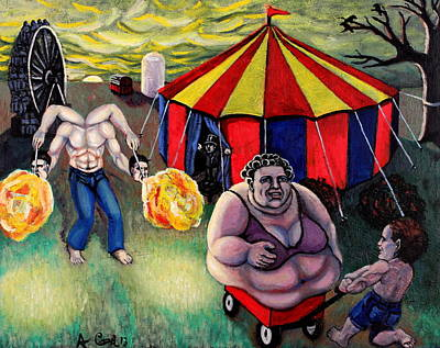 Wall Art - Painting - Carnival by Adam B Cook