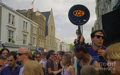 Photograph - Carnival Celebration Social Occasion Crowds by Richard Morris