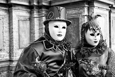 Photograph - Carnival Couple by John Rizzuto