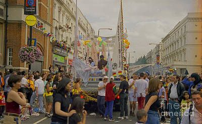 Photograph - Carnival Crowds Celebration Social Occasion by Richard Morris