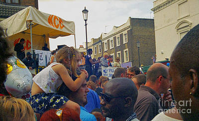 Photograph - Carnival Day Out Family Social Occasion by Richard Morris