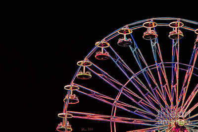 Photograph - Carnival - Ferris Wheel by Kathi Shotwell