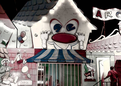 Carnival Fun House Art Print